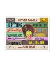 Softball - We Do Softball Sticker tile