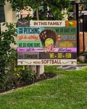 Softball - We Do Softball 24x18 Yard Sign aos-yard-sign-24x18-lifestyle-front-06