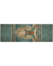 Yoga Lose Your Mind Find Your Soul Yoga Mat 70x24 (horizontal) front