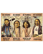 Be Strong - The Original Founding Fathers 17x11 Poster front