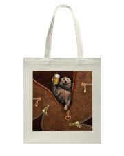 Camping Leather Tote Bag thumbnail