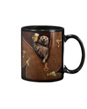 Camping Leather Mug thumbnail