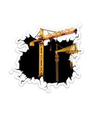 Crane Crack Sticker - Single (Vertical) front