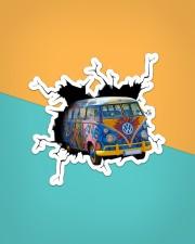 Hippie Car Crack Sticker - Single (Vertical) aos-sticker-single-vertical-lifestyle-front-02