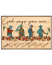 Scout - God Says You Are 17x11 Poster front