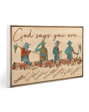 Scout - God Says You Are Gallery Wrapped Canvas Prints tile