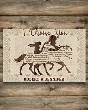 Personalized Native American I Choose You 17x11 Poster poster-landscape-17x11-lifestyle-14