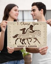 Personalized Native American I Choose You 17x11 Poster poster-landscape-17x11-lifestyle-20