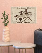 Personalized Native American I Choose You 17x11 Poster poster-landscape-17x11-lifestyle-21