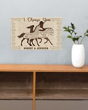 Personalized Native American I Choose You 17x11 Poster poster-landscape-17x11-lifestyle-24