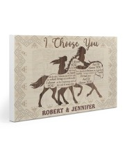 Personalized Native American I Choose You 30x20 Gallery Wrapped Canvas Prints thumbnail