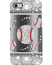 Baseball - Silver Phonecase Phone Case i-phone-8-case