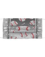 Baseball - Silver Phonecase Cloth face mask thumbnail