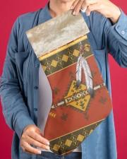 Feather Native Stocking Christmas Stocking aos-christmas-stocking-lifestyles-04