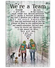 Camping - We're A Team Poster 11x17 Poster front