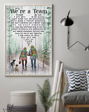 Camping - We're A Team Poster 11x17 Poster lifestyle-poster-1