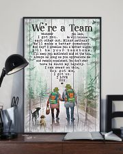 Camping - We're A Team Poster 11x17 Poster lifestyle-poster-2