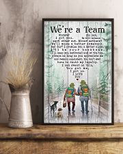Camping - We're A Team Poster 11x17 Poster lifestyle-poster-3