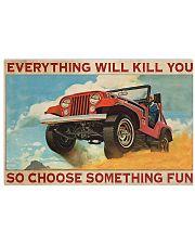JCar Chose Something Fun 17x11 Poster front