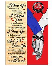 Jiu Jitsu - I Choose You 11x17 Poster front