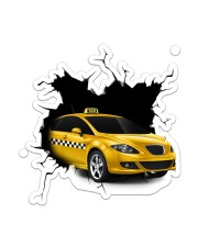 Taxi Crack Sticker - Single (Vertical) front