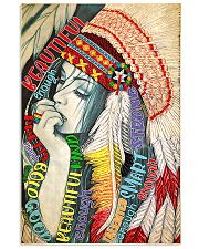 Native Beautiful 11x17 Poster front