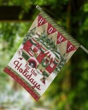 """Camping Christmas Flag 2 11.5""""x17.5"""" Garden Flag aos-garden-flag-11-5-x-17-5-lifestyle-front-15"""