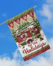 """Camping Christmas Flag 2 11.5""""x17.5"""" Garden Flag aos-garden-flag-11-5-x-17-5-lifestyle-front-16"""