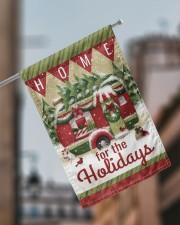 """Camping Christmas Flag 2 11.5""""x17.5"""" Garden Flag aos-garden-flag-11-5-x-17-5-lifestyle-front-17"""