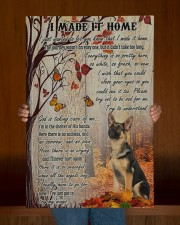 German Shepherd I Made It Home  20x30 Gallery Wrapped Canvas Prints aos-canvas-pgw-20x30-lifestyle-front-22
