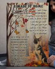 German Shepherd I Made It Home  20x30 Gallery Wrapped Canvas Prints aos-canvas-pgw-20x30-lifestyle-front-23