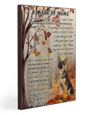German Shepherd I Made It Home  20x30 Gallery Wrapped Canvas Prints front