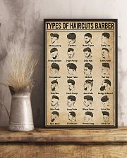 Barber-Types Of Haircuts  11x17 Poster lifestyle-poster-3