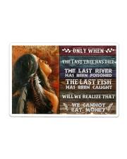 Native - We Cannot Eat Money Sticker - Single (Horizontal) thumbnail