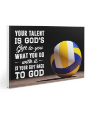 Volleyball - Your Talent Is God's Gift To You Gallery Wrapped Canvas Prints tile