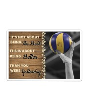 Volleyball - Being The Best Sticker tile