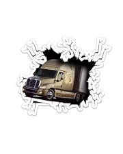Truck Crack Sticker tile