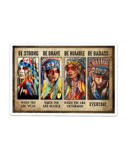 Native Be Strong Sticker tile
