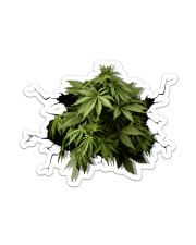 420 Cannabis Crack St Sticker - Single (Vertical) front
