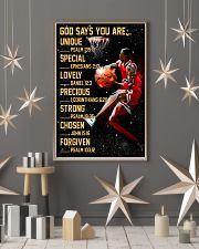 Basketball God Says You Are 11x17 Poster lifestyle-holiday-poster-1