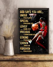 Basketball God Says You Are 11x17 Poster lifestyle-poster-3