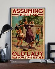 Softball - Assuming I'm Just An Old Lady  11x17 Poster lifestyle-poster-2