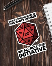 Game We All Roll For Initiative Sticker Sticker - Single (Vertical) aos-sticker-single-vertical-lifestyle-front-05
