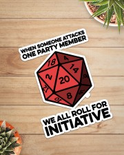 Game We All Roll For Initiative Sticker Sticker - Single (Vertical) aos-sticker-single-vertical-lifestyle-front-07