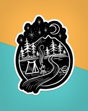 Sticker - Camping - Five Billion Star Hotel Sticker - Single (Vertical) aos-sticker-single-vertical-lifestyle-front-02