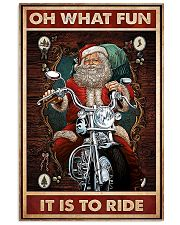 Motorcycle - Oh What Fun It Is To Ride 11x17 Poster front