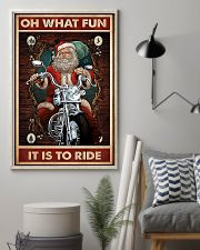Motorcycle - Oh What Fun It Is To Ride 11x17 Poster lifestyle-poster-1