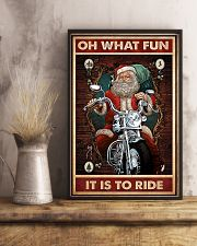 Motorcycle - Oh What Fun It Is To Ride 11x17 Poster lifestyle-poster-3