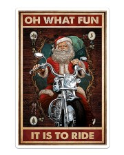 Motorcycle - Oh What Fun It Is To Ride Sticker - Single (Vertical) thumbnail