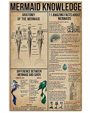 Mermaid Knowledge 11x17 Poster front